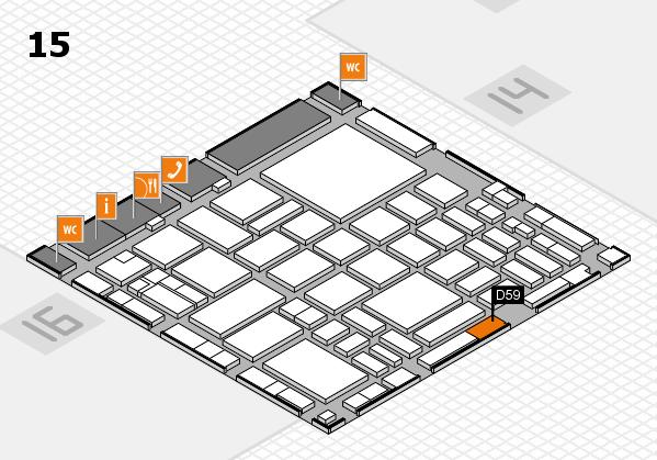 boot 2018 hall map (Hall 15): stand D59