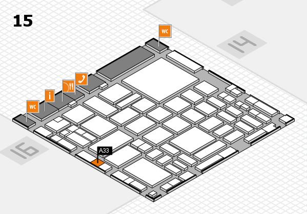 boot 2018 hall map (Hall 15): stand A33