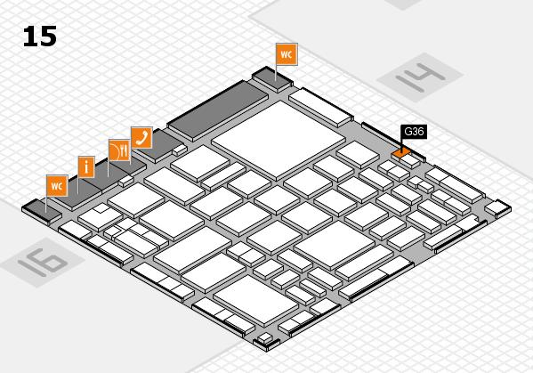 boot 2018 hall map (Hall 15): stand G36