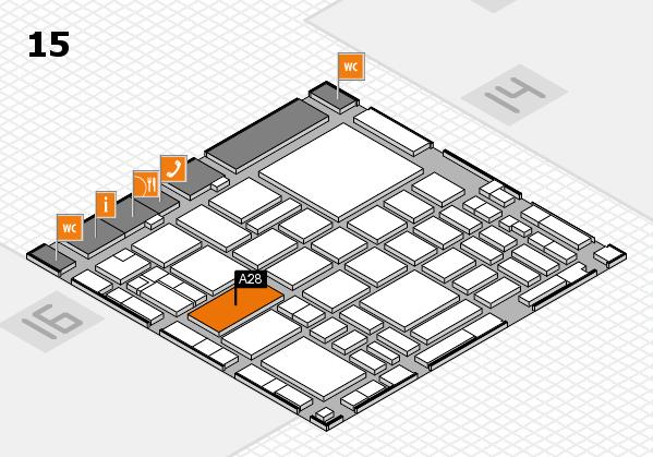 boot 2018 hall map (Hall 15): stand A28