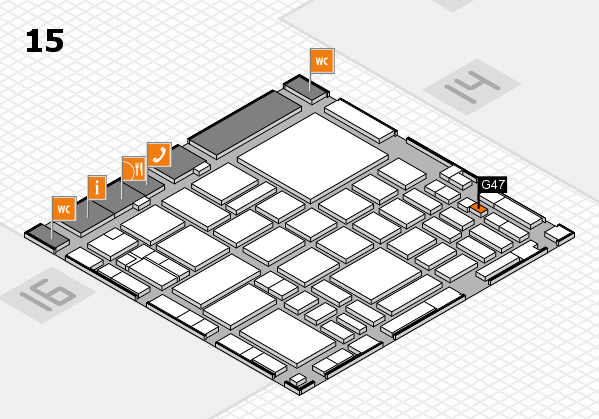 boot 2018 hall map (Hall 15): stand G47