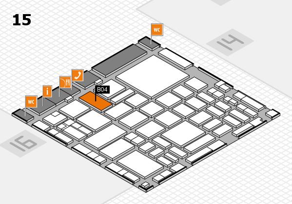 boot 2018 hall map (Hall 15): stand B04
