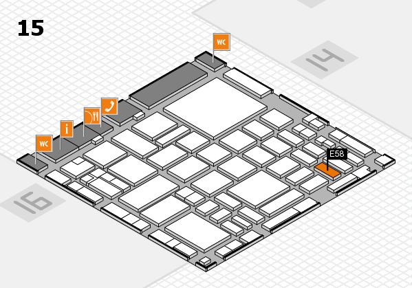 boot 2018 hall map (Hall 15): stand E58