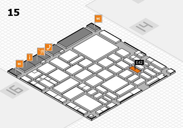 boot 2018 hall map (Hall 15): stand E42