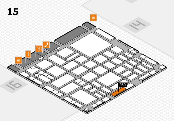 boot 2018 hall map (Hall 15): stand B60