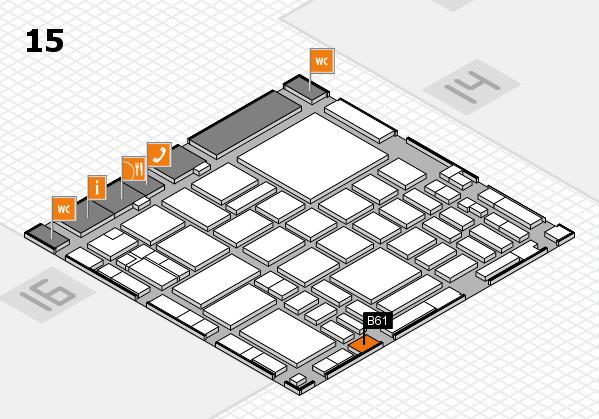 boot 2018 hall map (Hall 15): stand B61