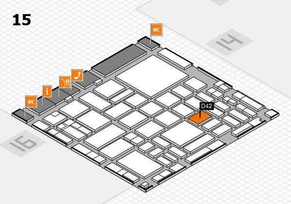 boot 2018 hall map (Hall 15): stand D42
