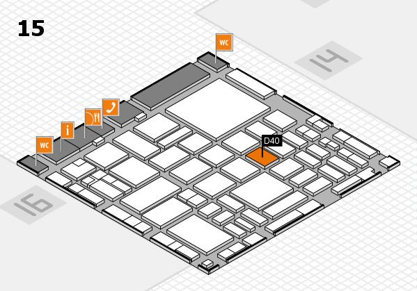 boot 2018 hall map (Hall 15): stand D40