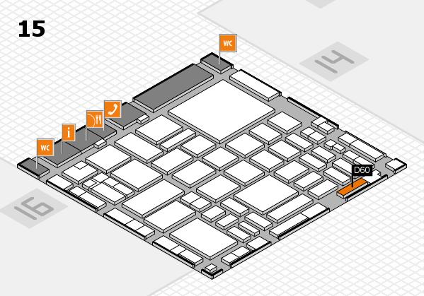 boot 2018 hall map (Hall 15): stand D60