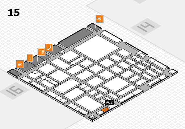 boot 2018 hall map (Hall 15): stand A62