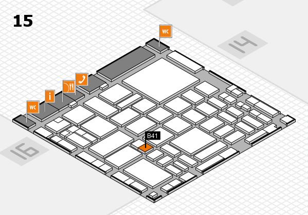 boot 2018 hall map (Hall 15): stand B41