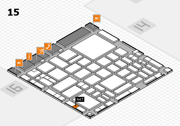 boot 2018 hall map (Hall 15): stand A47