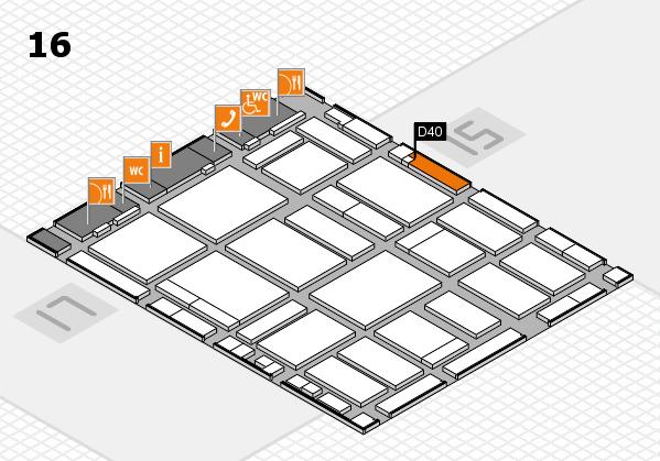 boot 2018 Hallenplan (Halle 16): Stand D40