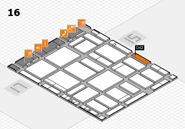 boot 2018 Hallenplan (Halle 16): Stand D42