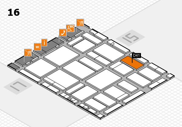 boot 2018 Hallenplan (Halle 16): Stand D41