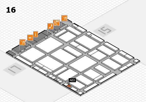 boot 2018 hall map (Hall 16): stand A63