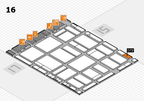 boot 2018 hall map (Hall 16): stand D72