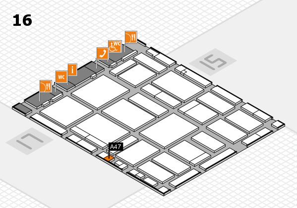 boot 2018 hall map (Hall 16): stand A47