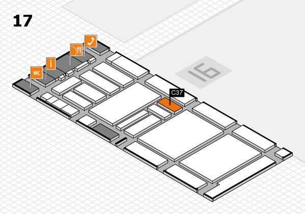 boot 2018 hall map (Hall 17): stand C37