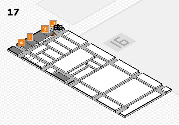 boot 2018 hall map (Hall 17): stand C02