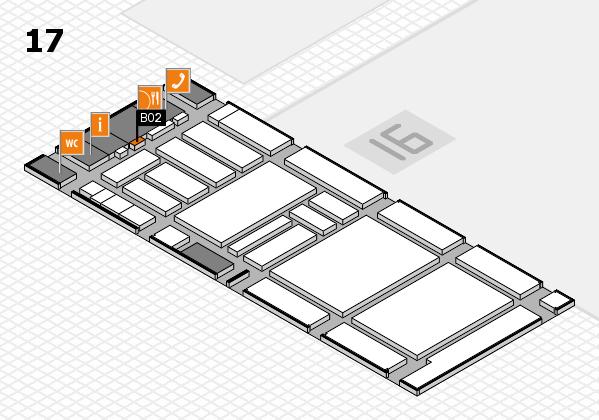 boot 2018 hall map (Hall 17): stand B02