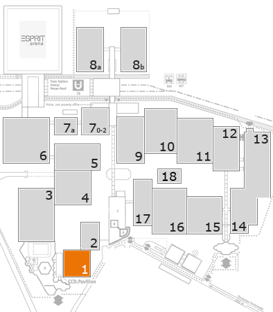 boot 2017 fairground map: Hall 1