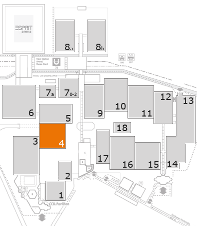 boot 2017 fairground map: Hall 4