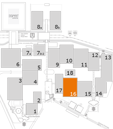 boot 2018 fairground map: Hall 16