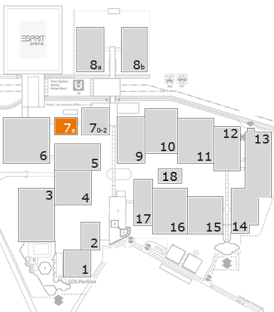 boot 2018 fairground map: Hall 7a