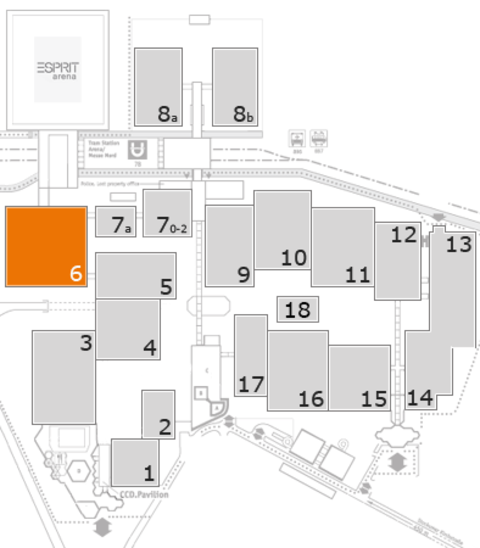 boot 2017 fairground map: Hall 6