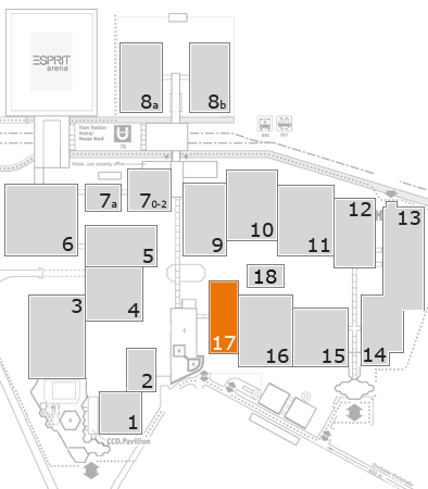 boot 2017 fairground map: Hall 17