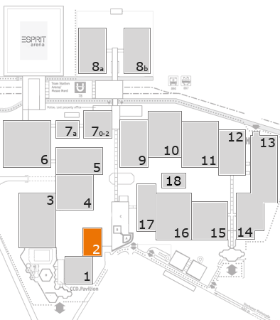 boot 2017 fairground map: Hall 2