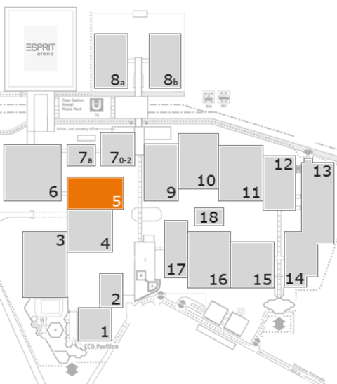 boot 2017 fairground map: Hall 5