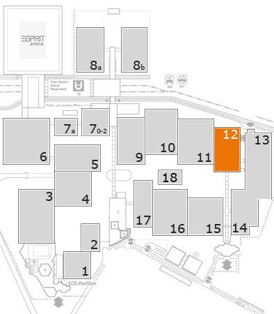 boot 2018 fairground map: Hall 12