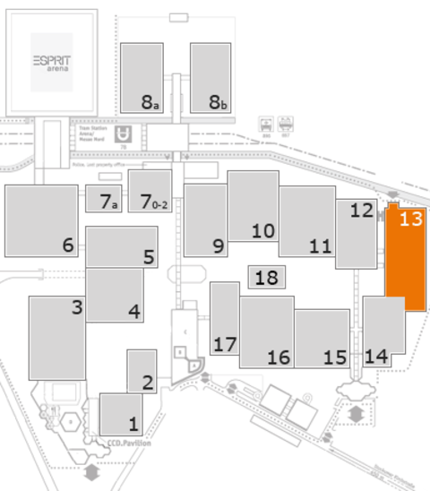 boot 2017 fairground map: Hall 13