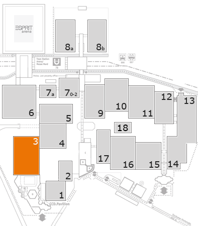 boot 2018 fairground map: Hall 3
