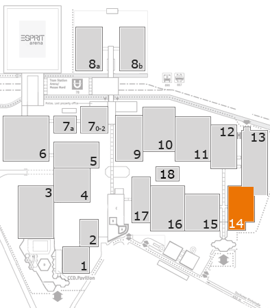 boot 2018 fairground map: Hall 14