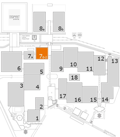 boot 2018 fairground map: Hall 7
