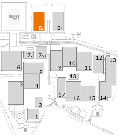 boot 2018 fairground map: Hall 8a