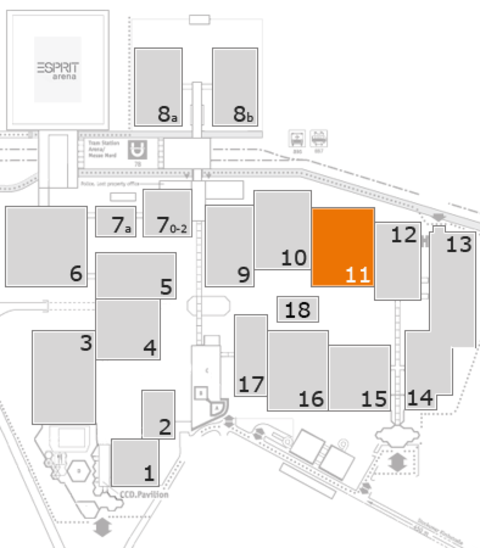 boot 2017 fairground map: Hall 11