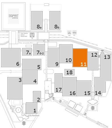 boot 2018 fairground map: Hall 11