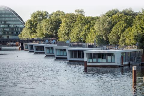 Victoriakai-Ufer Hamburg - Leben im Herzen von Hamburg