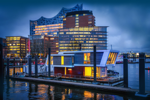 City Sporthafen Hamburg - Leben auf drei Ebenen
