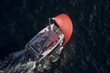 Saona 47 under sail