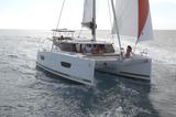 Lucia 40 under sail