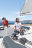 Astréa 42 under sail