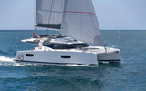 Elba 45 under sail