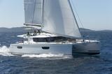 Saba 50 under sail