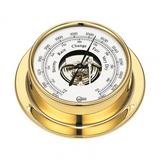 183MS Ship's Barometer Brass