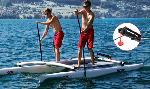 XCAT Basic XCAT Multi Sport Catamaran, Car topable for Sailing, Rowing, Scul
